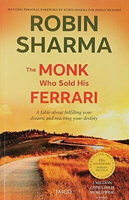 The Monk Who Sold His Ferrari by Robin S. Sharma Book The Cheap Fast Free Post