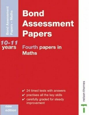 Bond Assessment Papers - Fourth Papers in Maths 10... by Baines, Andrew Pamphlet