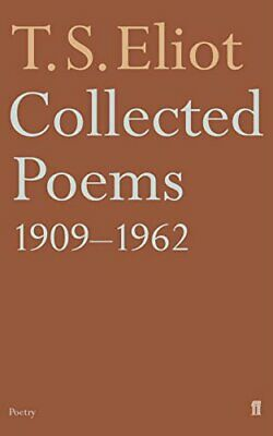 Collected Poems 1909-62 by Eliot, T. S. Paperback Book The Cheap Fast Free Post