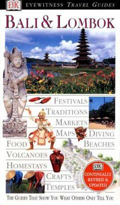 Eyewitness Travel Guide: Bali and Lombok Hardback Book The Cheap Fast Free Post