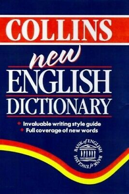 Collins New English Dictionary Hardback Book The Cheap Fast Free Post