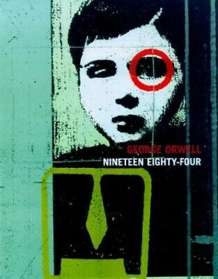 Nineteen Eighty-Four by Orwell, George Hardback Book The Cheap Fast Free Post
