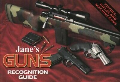 Guns Recognition Guide (Jane's) by Foss, Christopher F. Hardback Book The Cheap