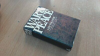 War and Peace by Tolstoi, Leo Hardback Book The Cheap Fast Free Post