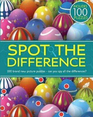 Spot the Difference Paperback Book The Cheap Fast Free Post