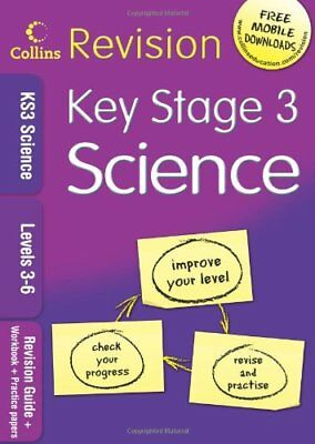 KS3 Science L3-6: Revision Guide + Workbook + Practice P... by UNKNOWN Paperback