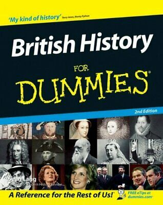 British History For Dummies by Lang, Sean Paperback Book The Cheap Fast Free
