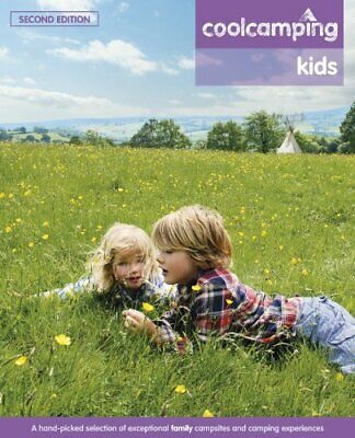 Cool Camping Kids by Andrea Oates Book The Cheap Fast Free Post