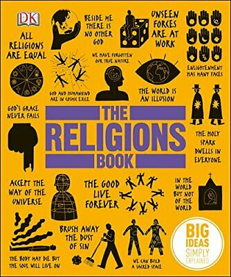 The Religions Book: Big Ideas Simply Explained by DK Book The Cheap Fast Free