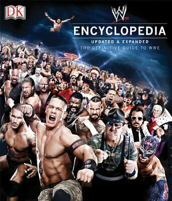 WWE Encyclopedia Updated & Expanded (2nd Edition) by DK Book The Cheap Fast Free