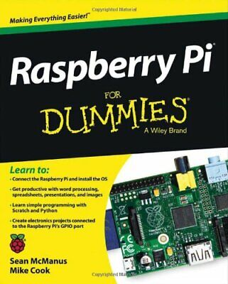 Raspberry Pi For Dummies by Cook, Mike Book The Cheap Fast Free Post