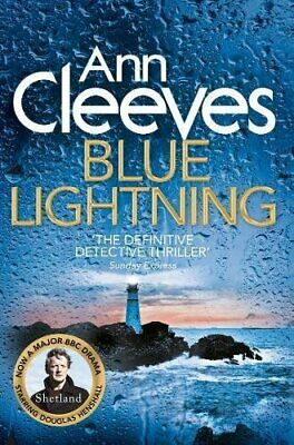Blue Lightning (Shetland) by Cleeves, Ann Book The Cheap Fast Free Post