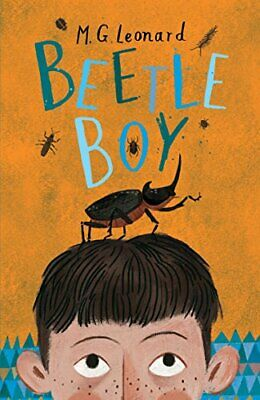 Beetle Boy (The Battle of the Beetles) by Leonard, M.G. Book The Cheap Fast Free