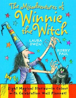 The Misadventures of Winnie the Witch by Owen, Laura Book The Cheap Fast Free