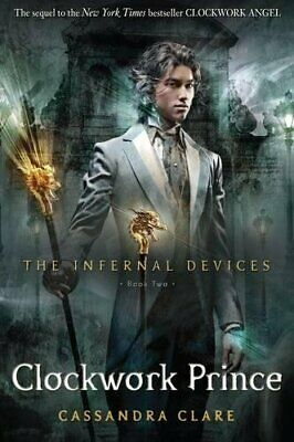 The Infernal Devices 2: Clockwork Prince, Clare, Cassandra Book The Cheap Fast