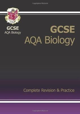 GCSE Biology AQA Complete Revision & Practice, CGP Books Paperback Book The