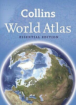 Collins World Atlas: Essential Edition by Collins Maps Paperback Book The Cheap