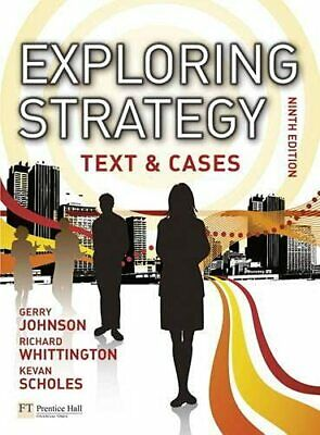Exploring Strategy Text & Cases plus My... by Scholes, Kevan Mixed media product