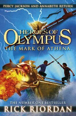 The Mark of Athena (Heroes of Olympus Book 3) by Riordan, Rick Book The Cheap