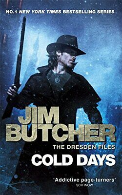 Cold Days: The Dresden Files, Book Fourteen by Butcher, Jim Book The Cheap Fast