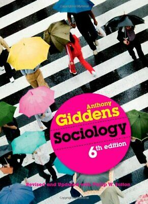 Sociology by Giddens, Anthony Paperback Book The Cheap Fast Free Post