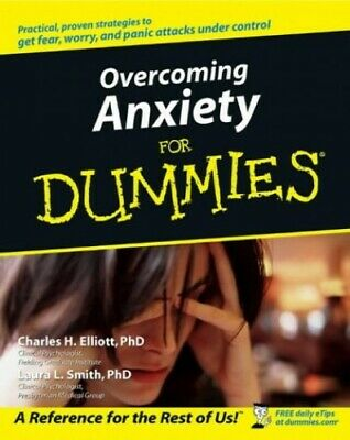 Overcoming Anxiety For Dummies [US Edition] by Smith, Laura L. Paperback Book