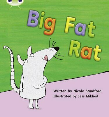 Bug Club Phonics Bug Set 05 Big Fat Rat by Sandford, Nicola Paperback Book The