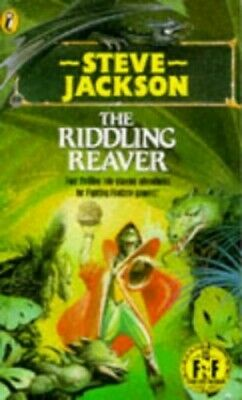 Riddling Reaver (Puffin Adventure Gamebooks) by Steve, Jackson Paperback Book