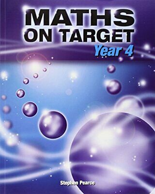 Maths on Target: Year 4 by Pearce, Stephen Paperback Book The Cheap Fast Free