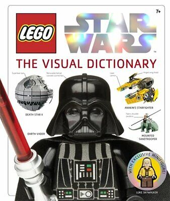 LEGO� Star Wars The Visual Dictionary (Dk), Dk Hardback Book The Cheap Fast Free