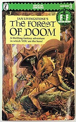 The Forest of Doom: Fighting Fantasy Gamebook 3... by Ian, Livingstone Paperback
