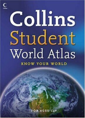 Collins Student World Atlas, Collins Paperback Book The Cheap Fast Free Post
