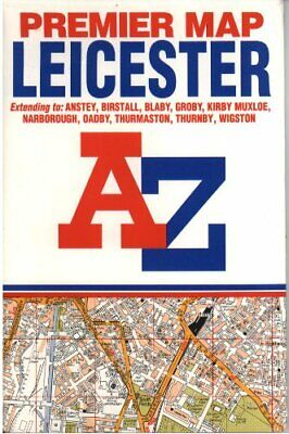 Premier Street Map of Leicester by Geographers' A-Z Map Compan Sheet map, folded