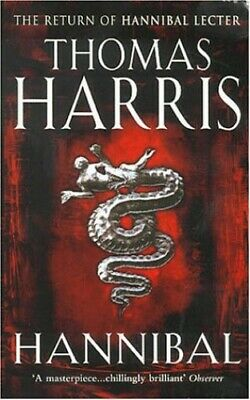 Hannibal: (Hannibal Lecter) by Harris, Thomas Paperback Book The Cheap Fast Free