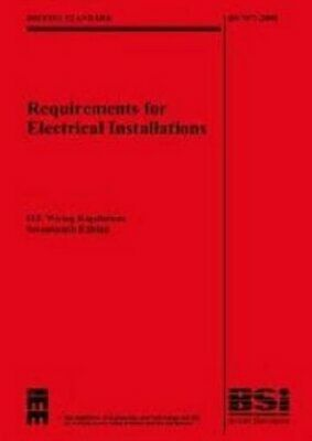 IEE Wiring Regulations 17th Edition : (BS 7... by Institution of Engin Paperback