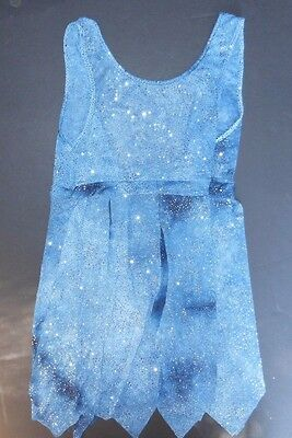NEW Praisewear lyrical glittered flyer tunic tie in front or back Navy Small ad