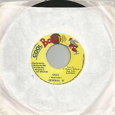 "General B - Gnae (Cool Backra) Reggae 7"" Vg+"