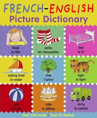 Picture Dictionary: French-English (Picture Dictio... by Louise Millar Paperback