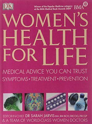 Women's Health for Life Paperback Book The Cheap Fast Free Post