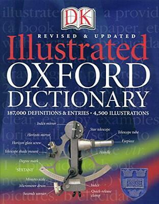 Illustrated Oxford Dictionary by DK Hardback Book The Cheap Fast Free Post