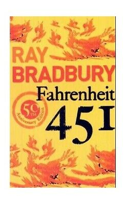 Fahrenheit 451, Bradbury, Ray Paperback Book The Cheap Fast Free Post