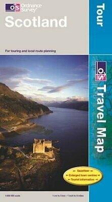 Scotland (OS Travel Map - Tour Map) by Ordnance Survey Sheet map, folded Book