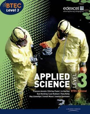 BTEC Level 3 National Applied Science Student Book by Frances Annets Paperback