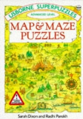 Map and Maze Puzzles (Usborne Superpuzzles) by Parekh, Radhi Paperback Book The