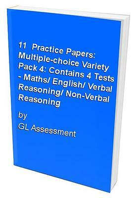 11+ Practice Papers: Multiple-choice Variety Pack 4:..., GL Assessment Paperback