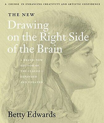 The New Drawing on the Right Side of the Brain by Edwards, Betty Paperback Book