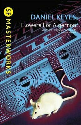 Flowers For Algernon (S.F. MASTERWORKS) by Keyes, Daniel Paperback Book The