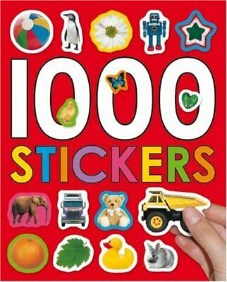 1000 Stickers by Roger Priddy Paperback Book The Cheap Fast Free Post