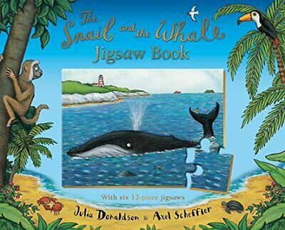 The Snail and the Whale Jigsaw Book by Donaldson, Julia Board book Book The