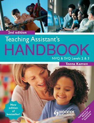Teaching Assistant's Handbook 2nd Edition: NVQ and ... by Kamen, Teena Paperback